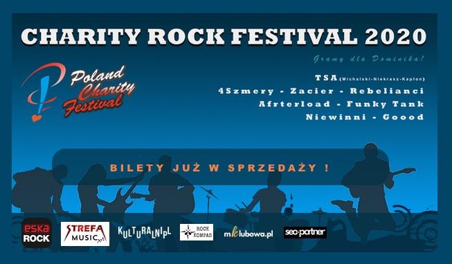 Read more about the article Ruszyła sprzedaż biletów na Charity Rock Festival